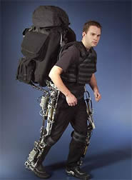 Berkley Lower Extremity Exoskeleton