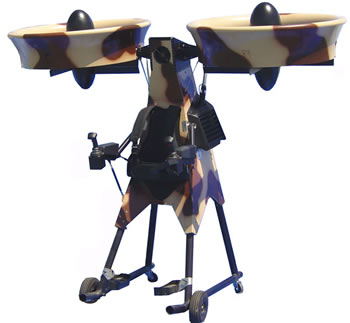 Springtail Efv 4b Personal Air Vehicle From Trek Aerospace