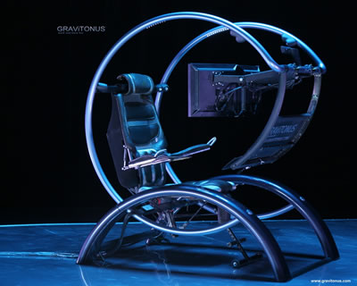 Gravitonus Ergonomic Workstation Science Fiction In The News